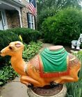 Empire Nativity Camel Blow Mold Large Christmas Lighted Plastic Decoration 1980s