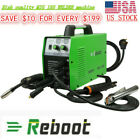 Mig 160a Welder Inverter Flux Core Wire Gaslessgas Stick Metal Welding Machine