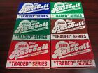 1986 1987 1988 1989 1990 1991 Topps Traded Complete Set Run-Bonds RC-Griffey RC!