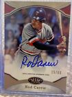 2020 Tier One ROD CAREW HOF Minnesota Twins AUTOGRAPH AUTO 15 80!!!!!