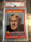 1971 Topps Football Terry Bradshaw Pittsburgh Steelers #156 PSA 4 (Rookie)