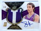 STEVE NASH...........2008-09 Exquisite Noble Nameplates Patch On Card Auto SP 8