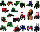 Tractor and Heavy Equipment Embroidery Machine Designs Brother Baby Lock PES