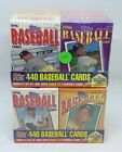 1996 96 Topps Mickey Mantle Cereal Box Set Series 1 2 #1-440 Sealed 4 Mini Box