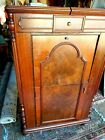 Vintage Antique 42 RECORD STORAGE CABINET Music Phonograph Turntable Wood
