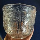 Vintage Kosta Boda Sweden Rhapsody Crystal Glass Bowl by Kjell Engman