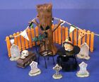 Spooky Halloween Graveyard Picnic Display Lot for Towns & Villages