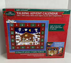 Kurt S Adler Talking Nativity Advent Calendar Light Activated Magnetic Holiday