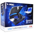 VIBE Sound VS 2002 SPK USB Turntable Vinyl Archiver Record Player w Speakers
