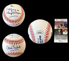 ALEX TREBEK HAND SIGNED AUTOGRAPHED INSCRIBED BASEBALL WITH JSA COA MUST SEE
