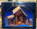 FONTANINI Roman Lighted Stable ONLY 1996 Christmas for 5 Heirloom Nativity Barn