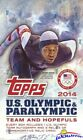 2014 Topps USA Olympics Team HUGE Factory Sealed HOBBY Box-3 AUTO RELIC-192 Card