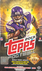 2013 Topps Football Hobby Wax Box