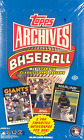 2012 Topps Archives Baseball Hobby Wax Box