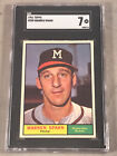Top 10 Warren Spahn Baseball Cards 31