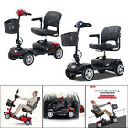 Electric Powered 4 Wheels Mobility Scooter Wheel Chair Compact Folding Device