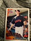 Buster Posey Unsigned 2010 Topps Opening Day Card