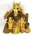 Vintage Made in Italy Nativity Manger Set