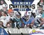 2014 Panini Contenders Football Factory Sealed HOBBY Box-5 AUTOGRAPHS+120 Cards!