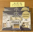 SEALED BOX 19-20 Leaf Lumber Kings EMERALD 4 Cards ALL Serial # 5 or less AUTO