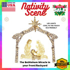 6Ft Christmas Nativity Set Jesus Born Scene LED Lighted Outdoor Lawn Yard Decor