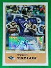 Tyrod Taylor 2011 Topps Magic Card #72 Rookie Autograph - Ravens Chargers