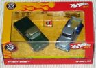 Hot wheels 40th annniversary 59 Chevy Apache 56 Ford F 100 Collectable NU