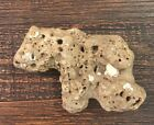 UNIQUE Bear Shaped Rock Unusual Stone Item Cool Lucky RARE