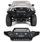 Classic Textured Black Front Rear Bumper Wled Light For 2005-2015 Tacoma