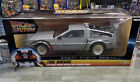 NECA Back to the Future DeLorean Time Machine 116 Diecast w Working Doors NEW
