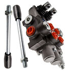2 Spool Hydraulic Control Valve Flow Max 13 GPM 3600 PSI 4 Way 3 Positions
