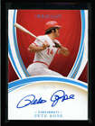 PETE ROSE 2020 IMMACULATE MASTERPIECE ON CARD AUTOGRAPH AUTO #1 1 FC4232