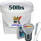 Swimming Pool 90 Chlorine 50lbs Granular ElectronicTest Strips in SKIMMER ONLY