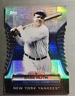 2012 Topps BABE RUTH Yankees Golden Moments Die Cut #GMDC-1