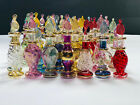Lot set of 20 Tiny hand blown Egyptian perfume Pyrex glass bottles size 2