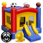 17 x 13 Commercial Spots Bounce House w Blower 100 PVC Inflatable Bouncer