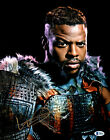 Winston Duke Signed Autographed 11x14 Black Panther Photo with Beckett COA