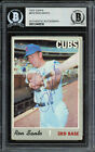 Ron Santo Autographed Signed 1970 Topps Card 670 Chicago Cubs Beckett 12486536
