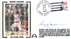 Reggie Jackson Autographed First Day Cover JSA