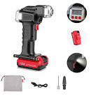 Cordless Tire Pump Car Truck Air Inflator 120PSI 12V Removable Charge Battery