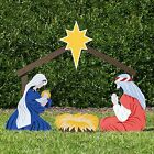 Holy Family Outdoor Nativity Set Large Color