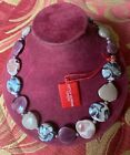 ANTICA MURRINA VENEZIA NECKLACE CHOCKER GLASS NIB