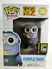 Funko Pop! Despicable Me 2 36 Purple Dave 2014 SDCC LE Exclusive