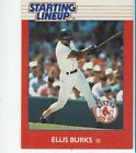 1988 Kenner Starting Lineup Ellis Burks card
