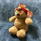 Ty Beanie Baby Little Bear - MWMT (Bear Indian 2006) Thanksgiving BEAR