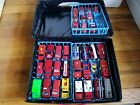 Lot of 33 Vintage Ambulance  Fire Dept Diecast Vehicles and Collectors Case