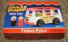 New In The Box Vintage FISHER PRICE Little People Mini Van