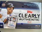 2020 TOPPS CLEARLY AUTHENTIC BASEBALL HOBBY BOX FACTORY SEALED 1 ENCASED AUTO