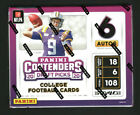 2020 PANINI CONTENDERS DRAFT PICKS FOOTBALL HOBBY BOX FACTORY SEALED JOE BURROW