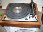 DUAL 1229 TURNTABLE VINTAGE PERFECT WITH SHURE CARTRIDGE